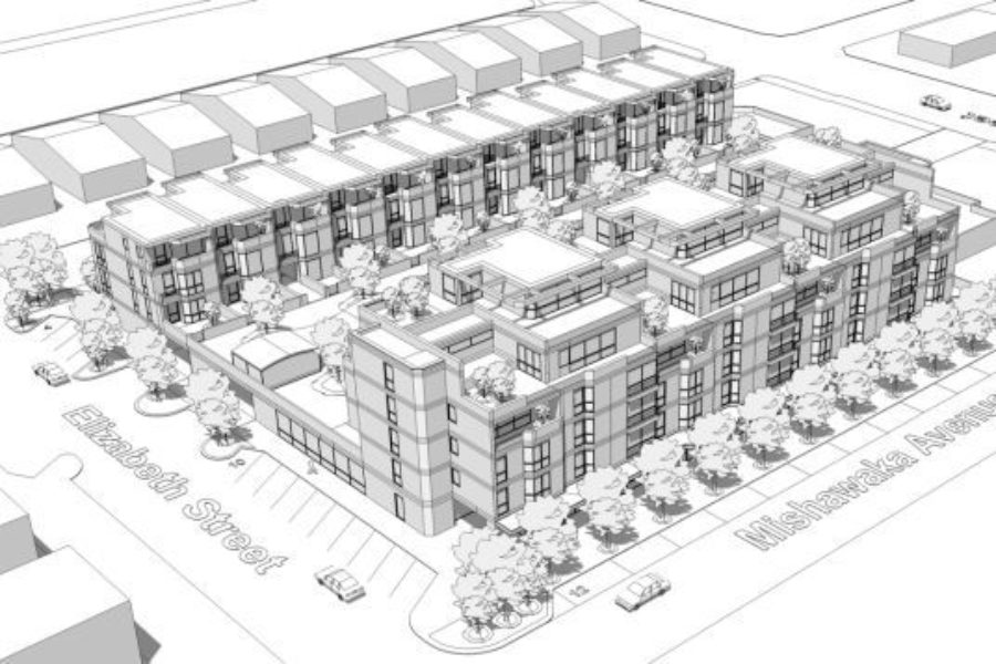 Mishawaka Approves the Barak Group's Townhouse and Apartment Complex